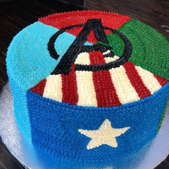 Las mejores tortas de Los Vengadores