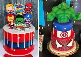 tortas de Los Vengadores