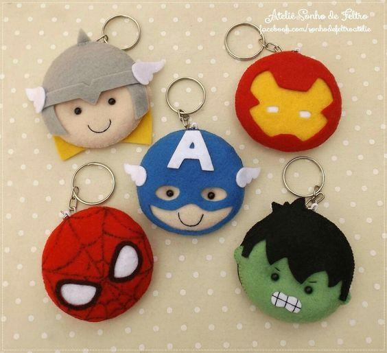 Llaveros de Avengers