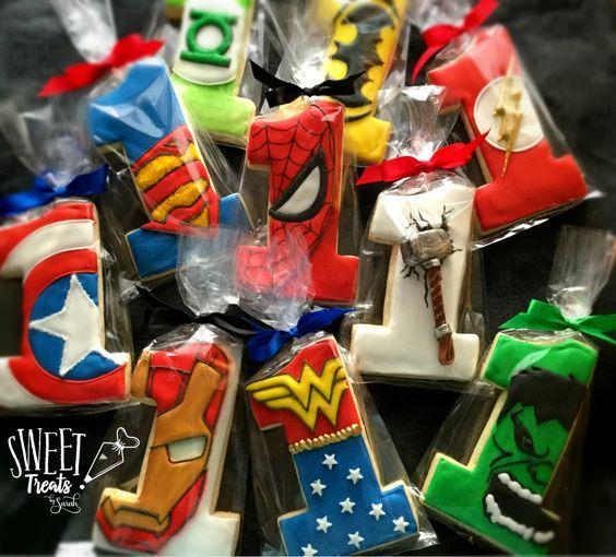 Galletas de Avengers