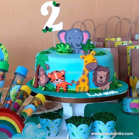 Torta de cumpleaños de Selva