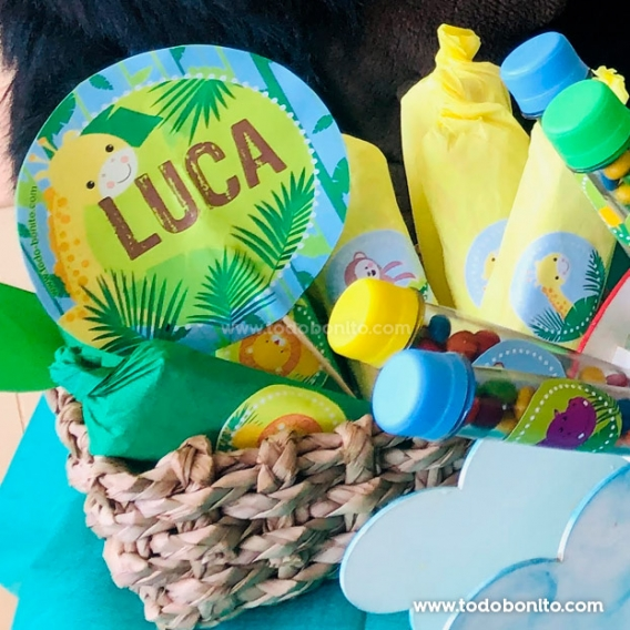 Ideas centros de mesa cumpleaños de Selva