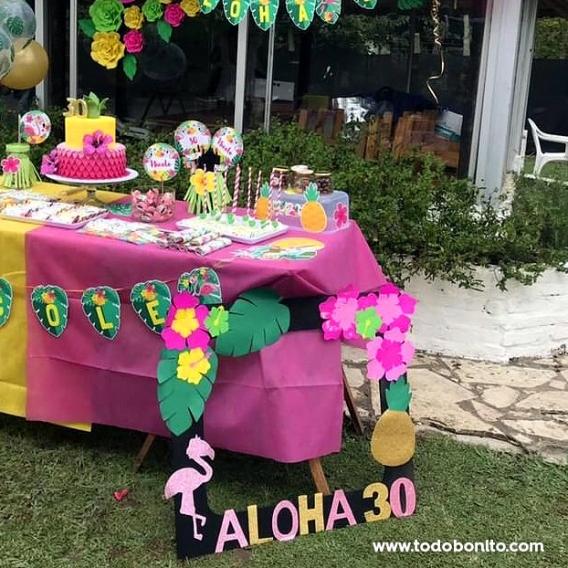 Fiesta de 30 años flamencos y ananá