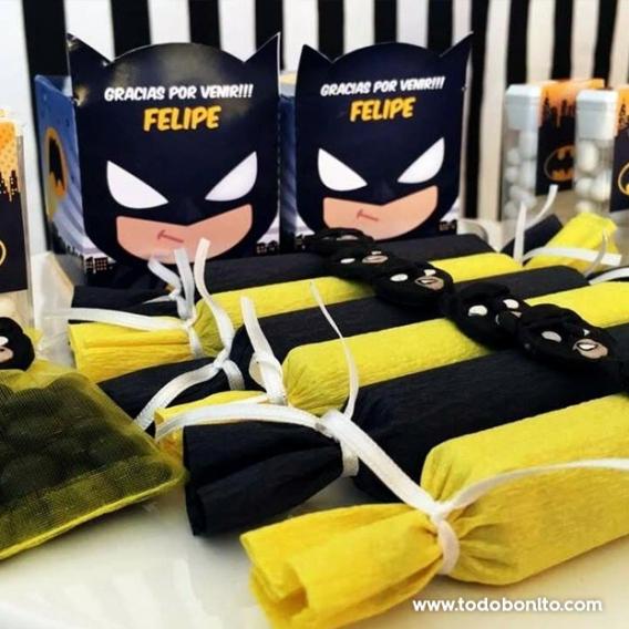 Cajitas de Batman para imprimir por Todo Bonito