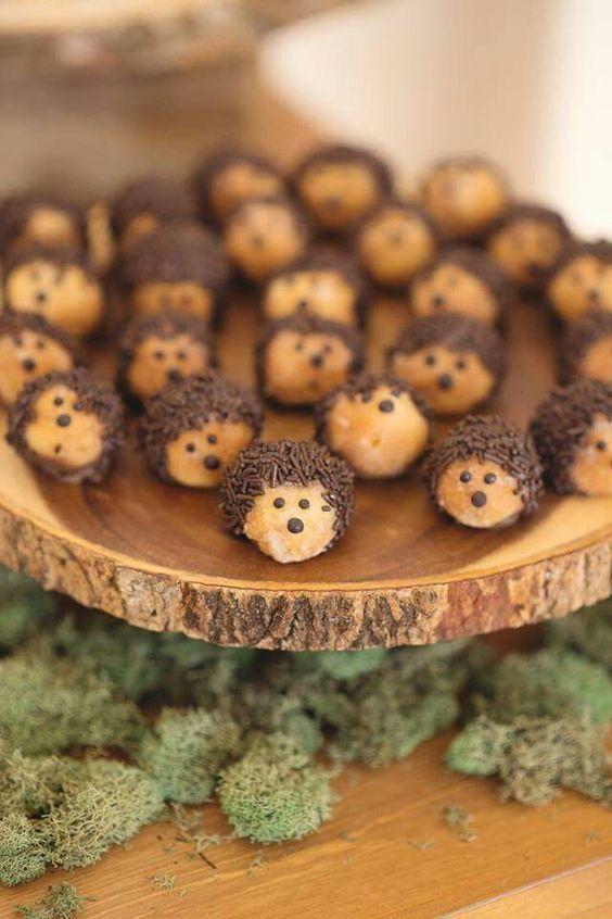 ideas para mesa dulce de animalitos del bosque