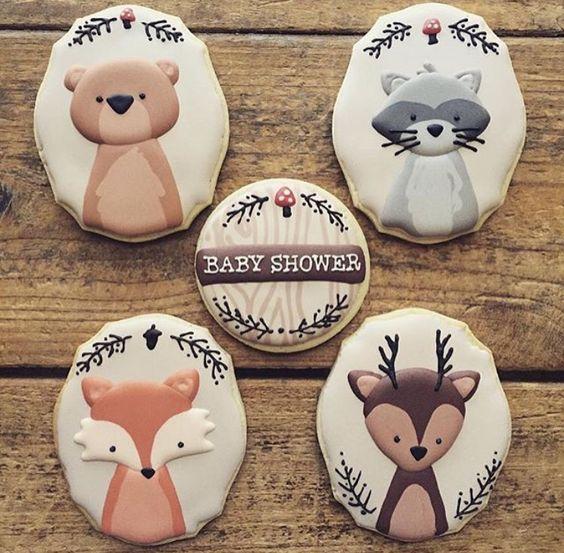 galletas de animalitos del bosque