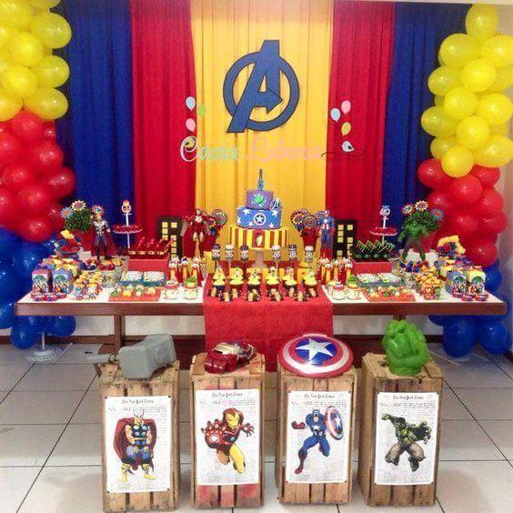 Ideas decoracion Avengers