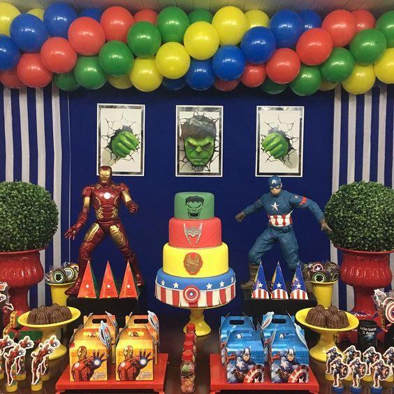 Ideas fiesta Avengers