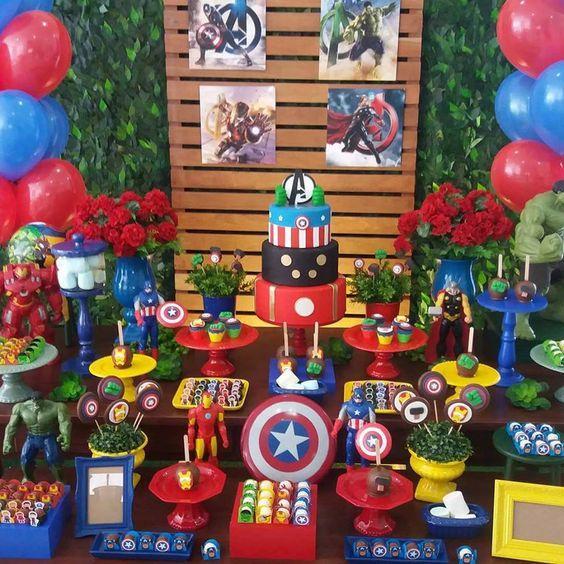 Ideas mesa Avengers