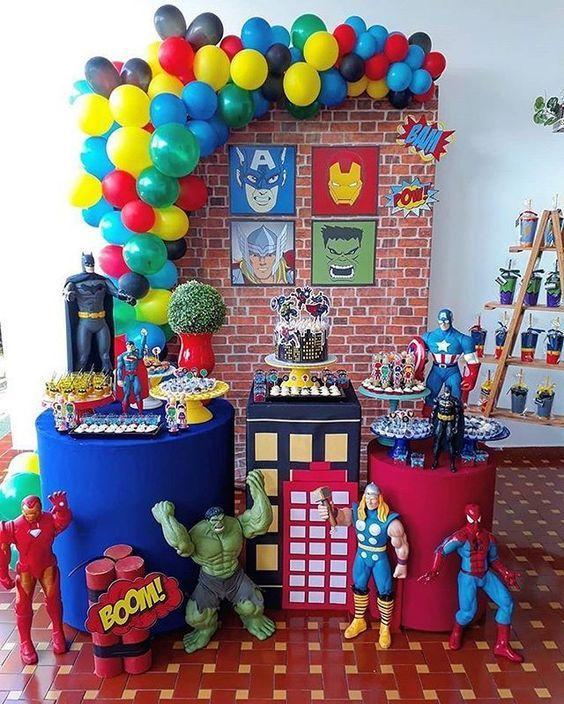 Ideas decoraciones Avengers