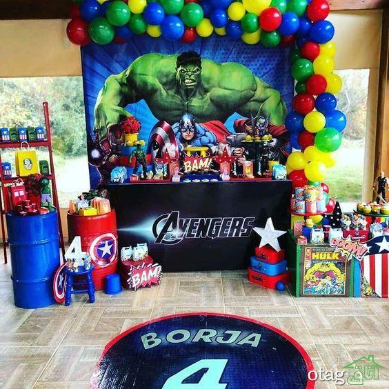 Ideas cumpleaños Avengers