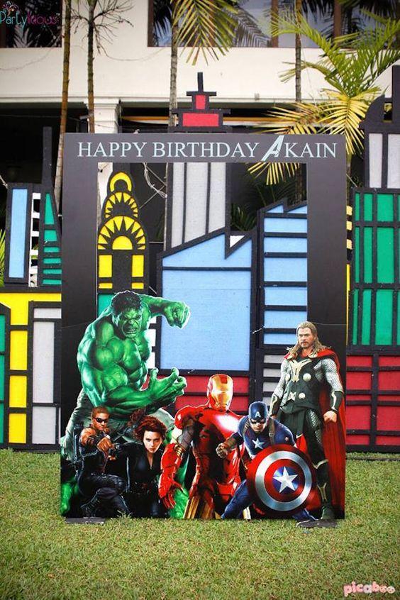 Ideas photocall Avengers