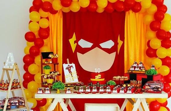 Ideas de decoración con la temática de Flash