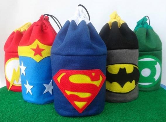 Souvenirs de la Liga de la Justicia