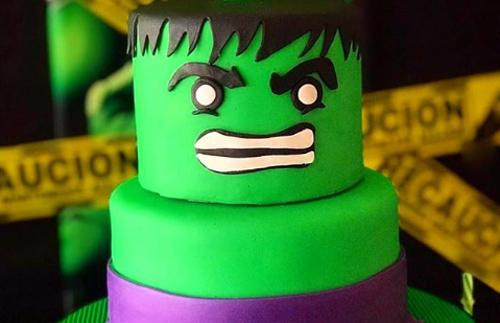 Increíbles tortas de Hulk