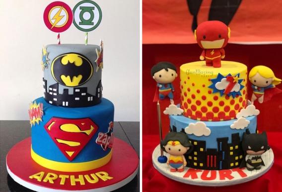 las 20 tortas más fantásticas de la Liga de la Justicia