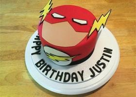 Tortas decoradas para una fiesta de Flash
