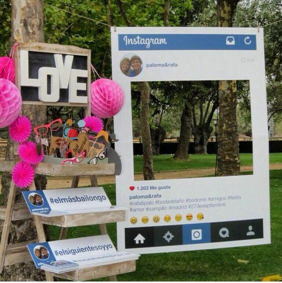 Photocall redes sociales