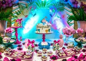 Candy bar flamencos por Mica