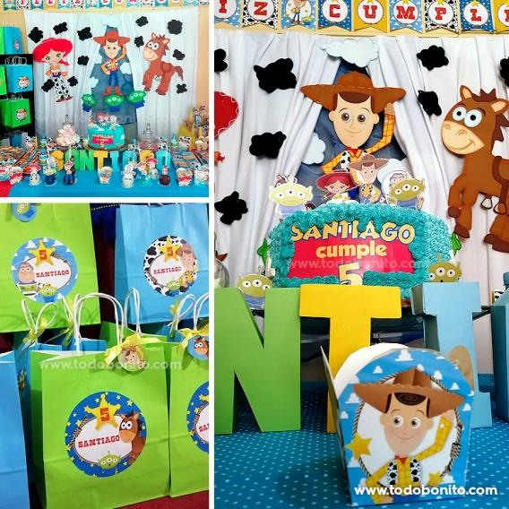 Kits imprimibles de Toy Story