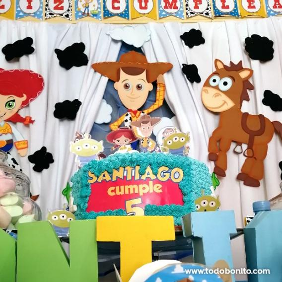 Torta con personajes Toy Story Todo Bonito