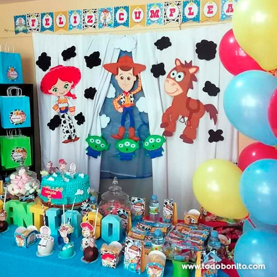 Kit Imprimible Toy Story Todo Bonito