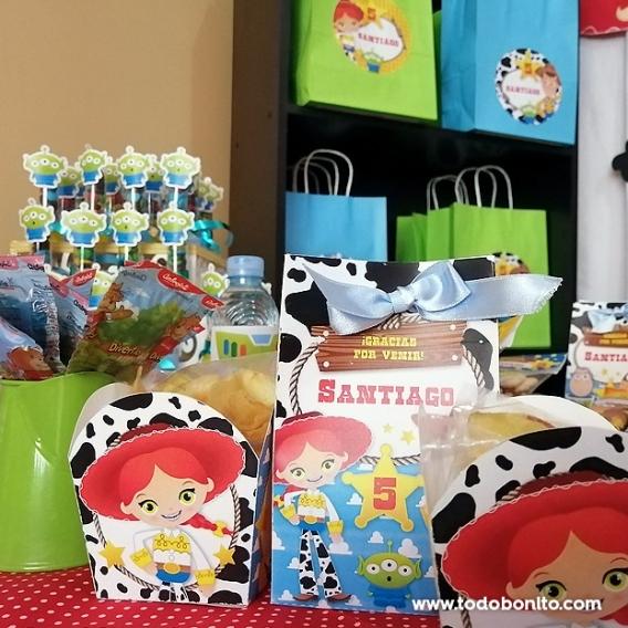Detalles Kit Imprimible Toy Story Todo Bonito
