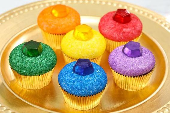 Cupcake gemas thanos