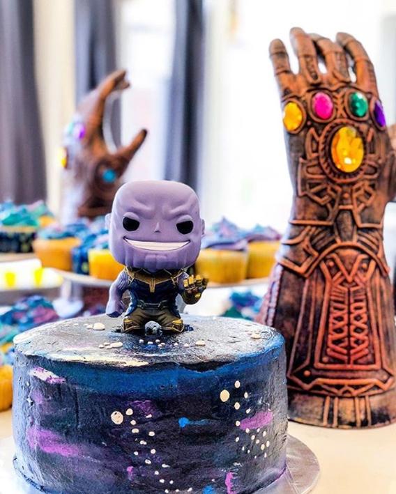 Torta de Thanos