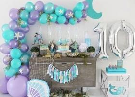 Hermosas ideas para fiestas de Sirenas
