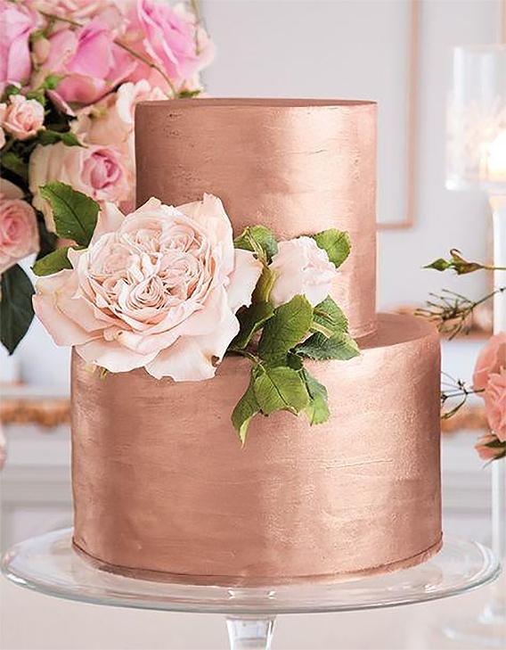 Torta Gold Rose