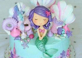 Las mas bellas tortas de Sirenas