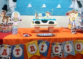 Un cumple de Toy Story desde Uruguay