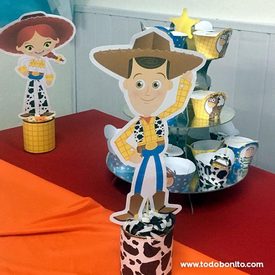Personajes Kit Imprimible Toy Story Todo Bonito