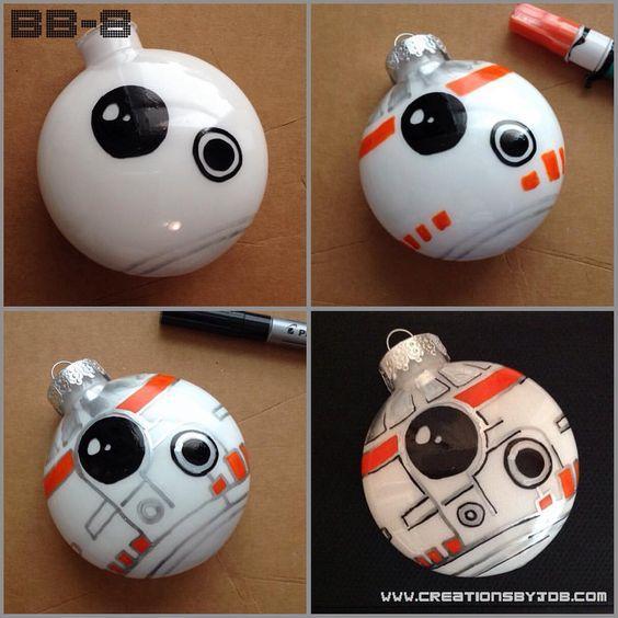 Bolas de Navidad BB8