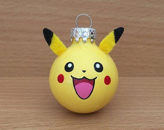 Bolas de Navidad Pikachu