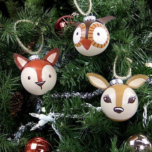 Bolas de Navidad animalitos