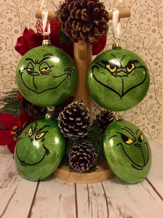 Bolas de Navidad el Grinch