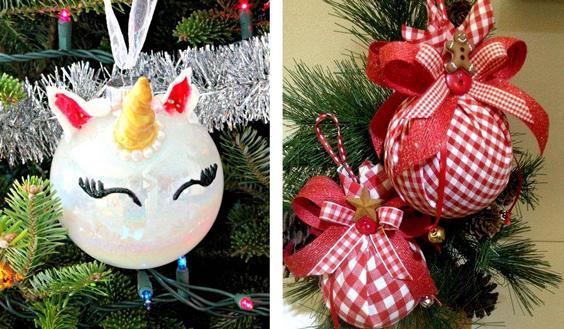 Renovar los adornos navideños: fácil y económico