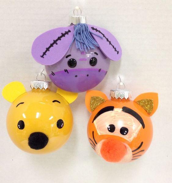 Bolas de Navidad Winnie Poo