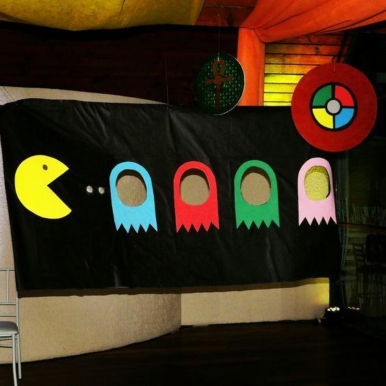 Photocall de Pac-man