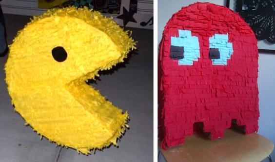 Piñatas de Pac-man