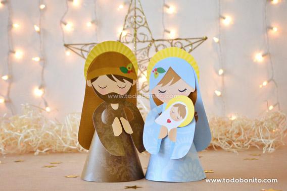Kit imprimible de Navidad Niño Jesús