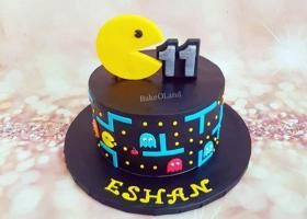 Creativas tortas decoradas de Pacman