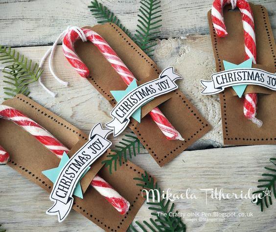 Presentes para Navidad con caramelos