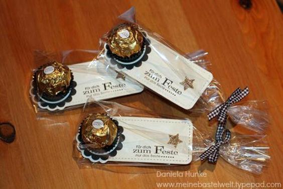 Presentes para Navidad con bombones