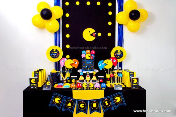 Kits imprimibles de Pacman