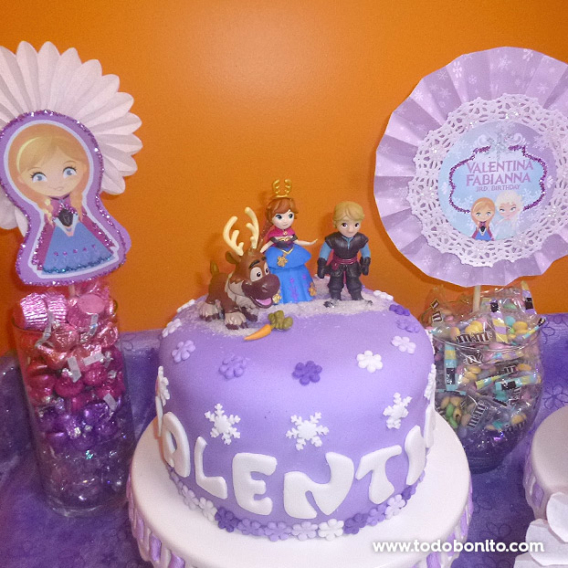 Una colorida fiesta de Frozen