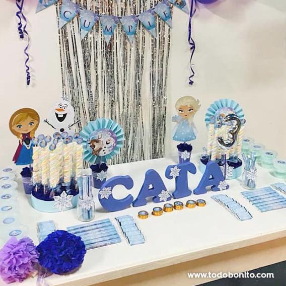 Golosinas personalizadas de Frozen