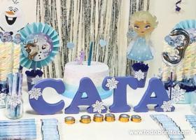 Los 3 años de Catalina junto a Frozen